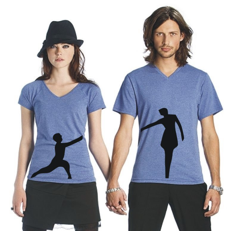 jahrestag t shirt couple shirts als geschenk. Black Bedroom Furniture Sets. Home Design Ideas