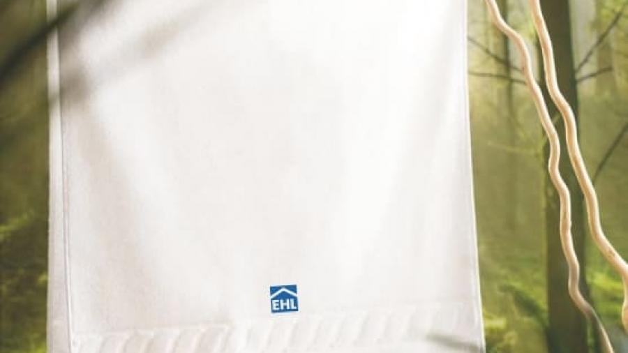 Handtuch besticken mit Logo