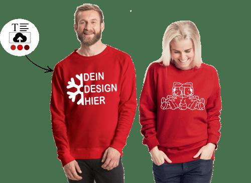 Weihnachten T-Shirt SELBST bedrucken