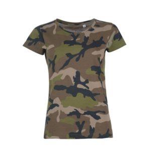 Damen Camouflage T-Shirt gestalten