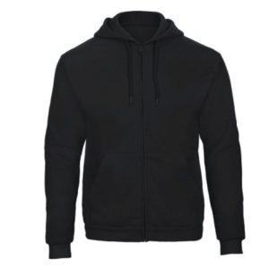 Männer Hoodie mit Zip bedrucken