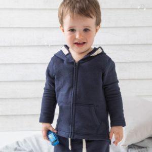 Baby Kapuzen Sweatjacke