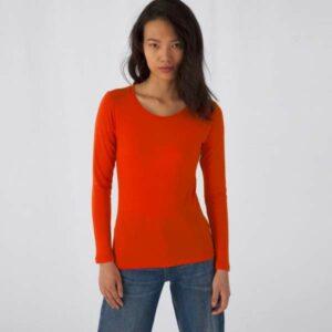 Langarm Organic Damen Shirt