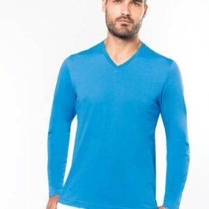 V-Neck Langram T-Shirt